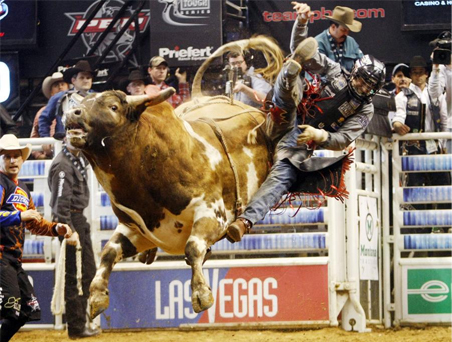 2009 Pro Bull Riding World Finals in Las Vegas