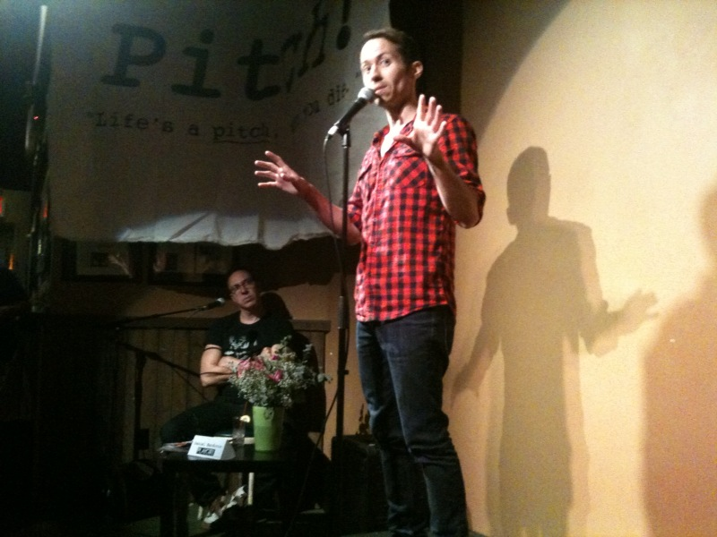 "David Crabb at ""Pitch!"""